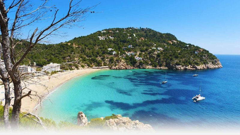 Itinerary - Rental boat in Ibiza Playa Las Salinas
