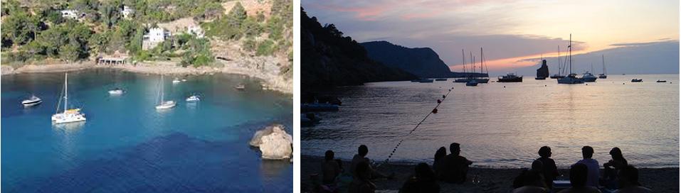 Charter Ibiza - Caló de Porc y Benirrás