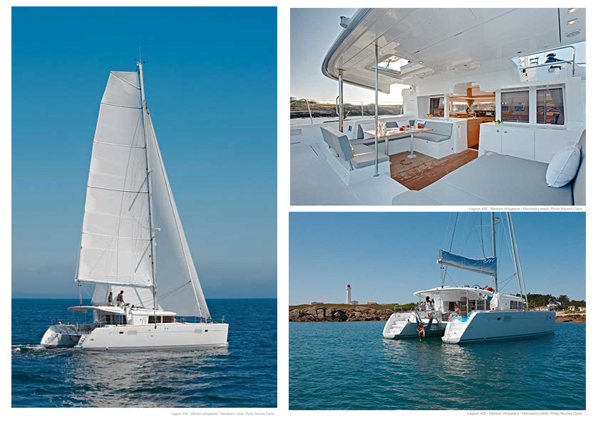 Rental catamaran in Ibiza